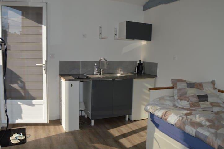 Beau studio au cœur du sauternais - Sauternes - Apartamento