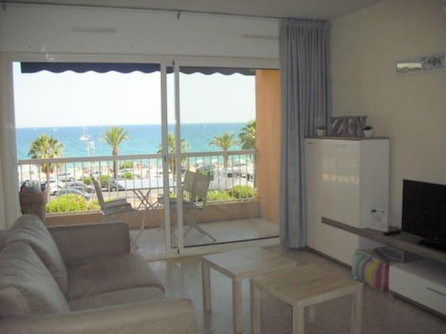 Appartement F2 face à la plage - Fréjus - Leilighet