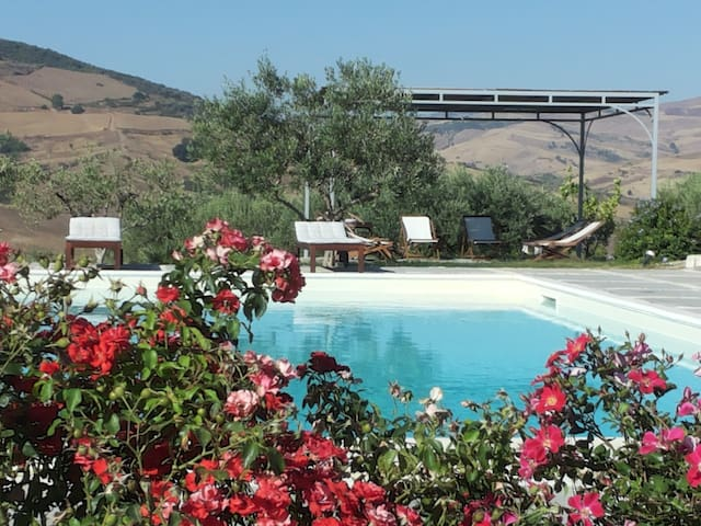 Sicilia (URL HIDDEN) Masseria - Roccapalumba - Lägenhet