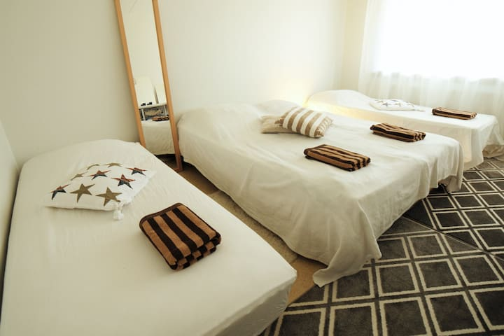 Private room near University and the highway - Oulu - Leilighet