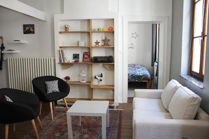 Appartement F1 bis, tout équipé, hyper-centre - Metz - 아파트