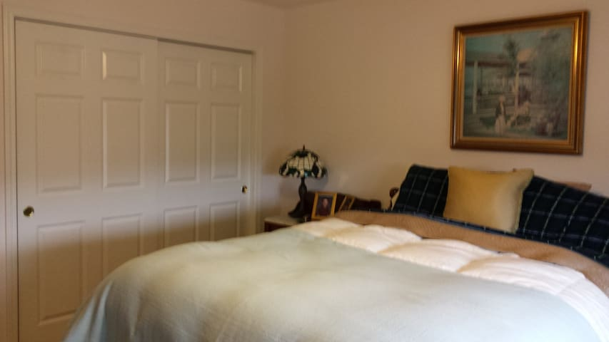 PLUSH & COMFY BEDROOM IN LOVELY UPSCALE TOWNHOME!! - North Aurora - Rivitalo