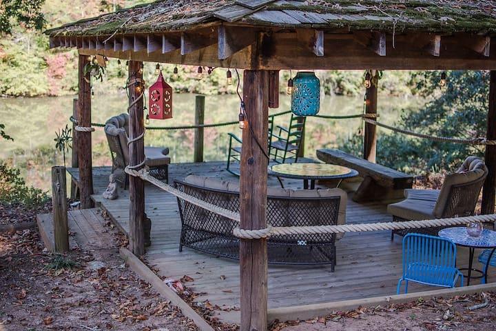 Wild, Creative Writers Retreat Lake House (by UGA) - Athens
