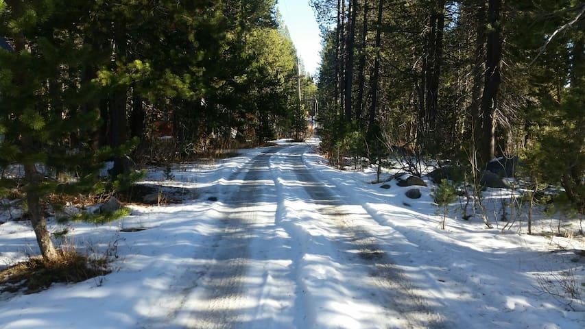Basecamp in Soda Springs! In the woods but in town - Soda Springs - Huis