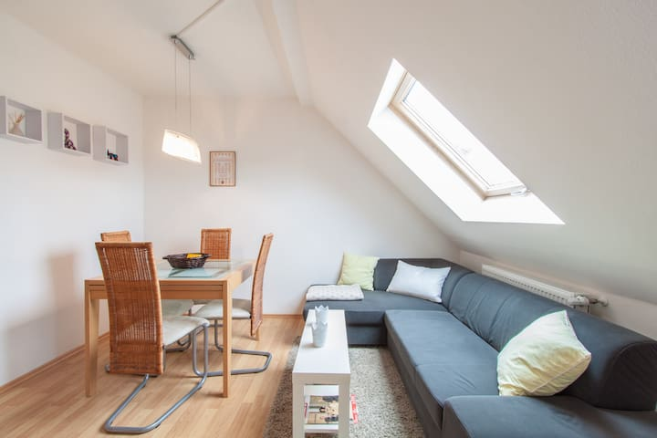 Beautiful apartment close to city center - Würzburg - Appartement