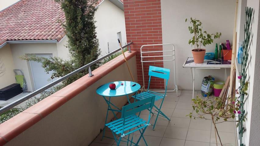 Appartement Saint-Alban, parking - Saint-Alban - Daire