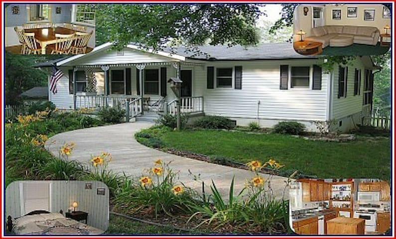 Maplecrest at Lake Jocassee Vacation Rental Home - Salem - Casa