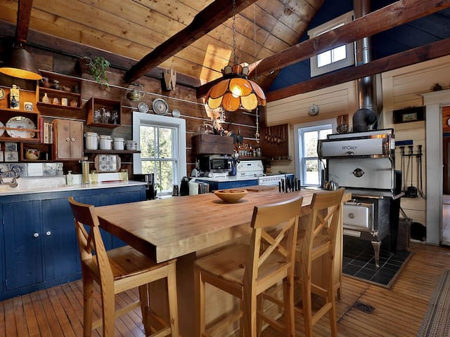Near Montreal: Cozy Rustic Ancestral Country Home - Saint-Jean-Baptiste - Dom