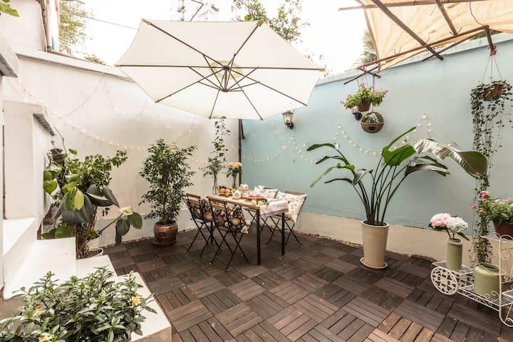 Garden House@ZhongShanPark 复古花园公寓@中山公园 步行5分钟直达地铁 - Shanghai - Wohnung