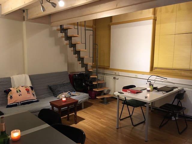 Cozy studio in historical building - Groningen - Leilighet