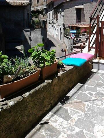 Appartamento tra natura e storia - Carbognano - Appartement