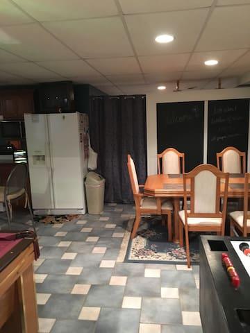 Basement suite - Kankakee - Huis