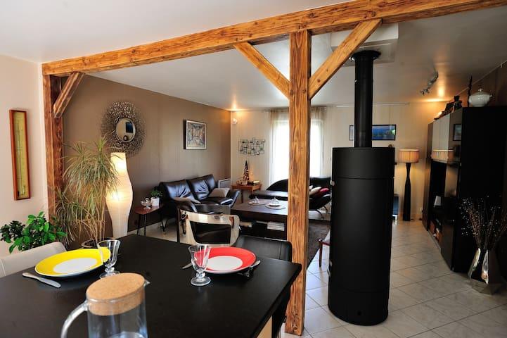 Grande maison entre océan et Loire - Beaucouzé - Casa