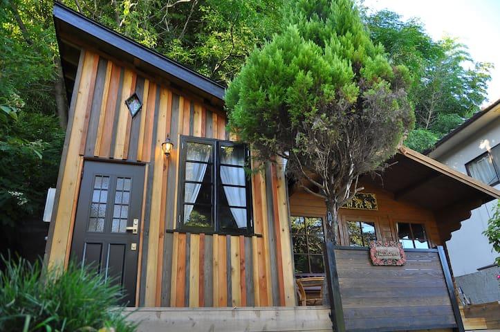 Loft&Thai style House.2 Bikes.Parking.WIFI.Pick up - Okayama - Loteng Studio