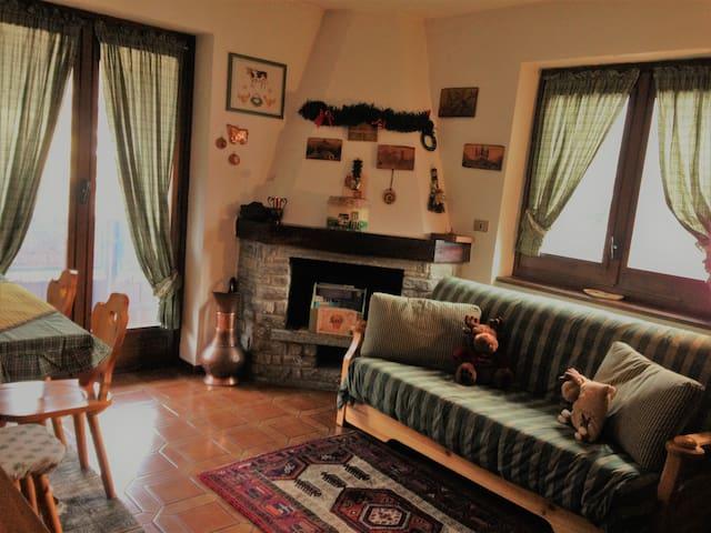 Tipica casetta di montagna a Morgex - Morgex - Appartement