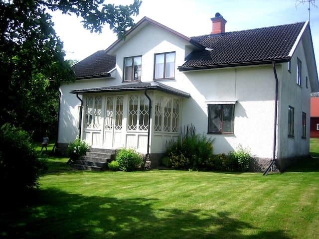 Large house in Haddarp, Lönneberga - Haddarp - Huis