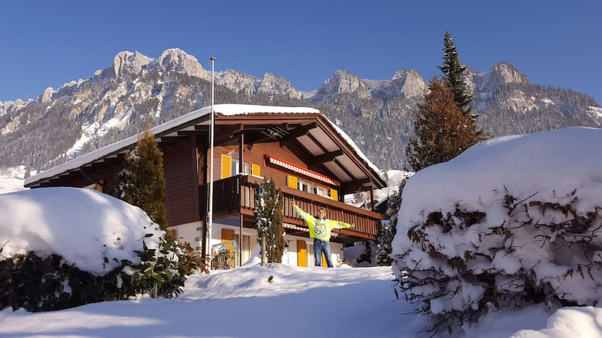In the❤of Switzerland's Swiss Alps - Flühli, Luzern, CH