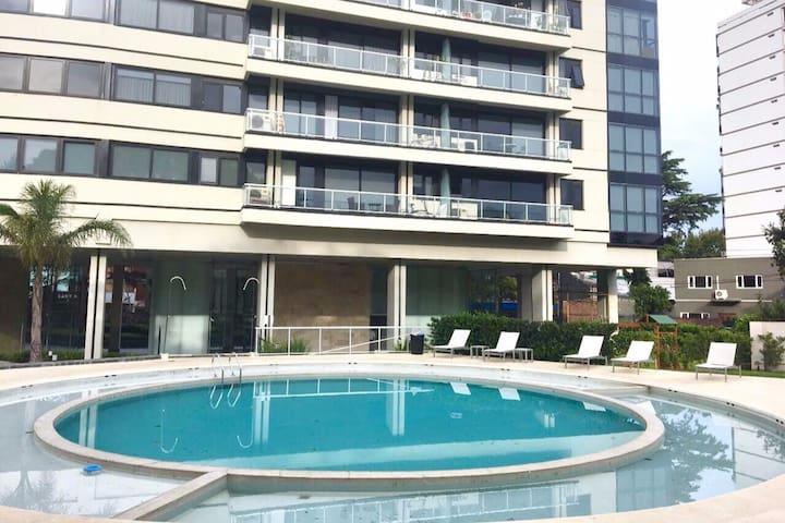 Luxury Tower. Pool, Gym, Parking - La Lucila - Departamento