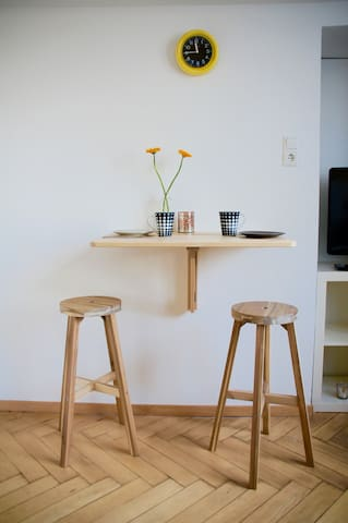 Apartement sauber ruhig mittendrin - Augsburg - Leilighet
