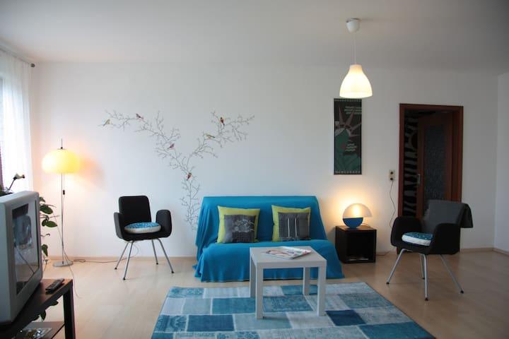 Schöne Stadtwohnung (Nähe Schloss) - Saarbrücken - Apartemen