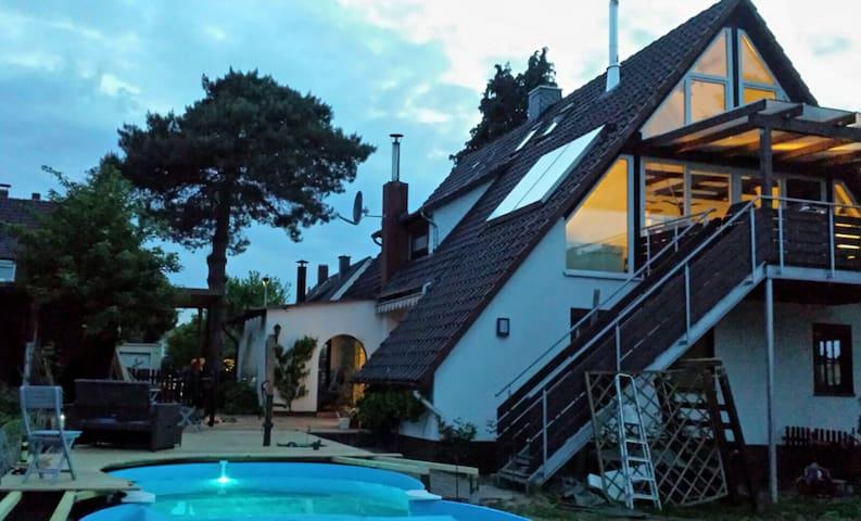 Moderne 110qm mit Pool und Sauna - Hameln - Maison