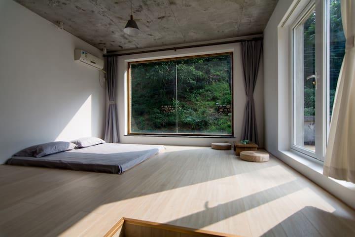怀柔山景巍美秀丽的室外景观露台房 - Pequim - Vila