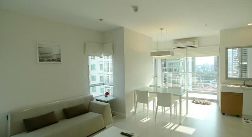 !!!New Cozy Private 2 Bedroom & Bathroom   4Guest - Bangkok - Apartmen