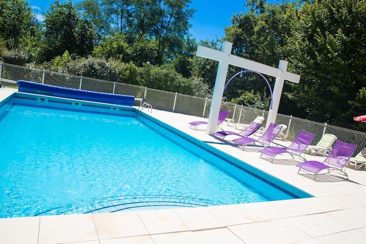 Appartement vue forêt avec piscine - Saint-Paul-lès-Dax - Appartement