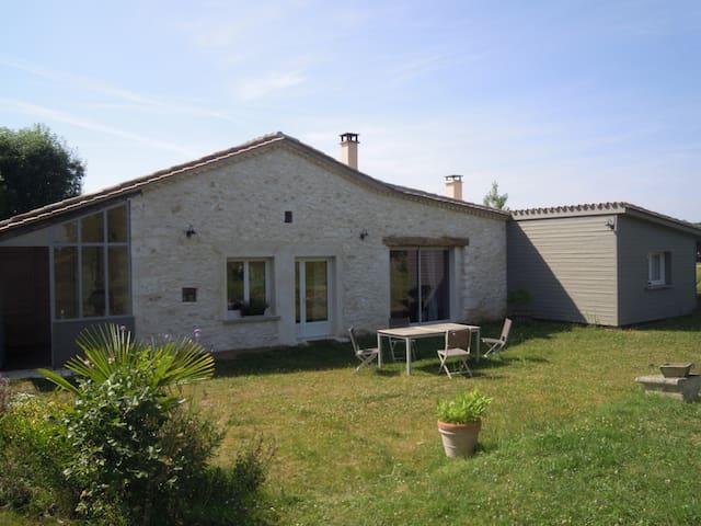 Room in charming house - Serres-et-Montguyard - Casa