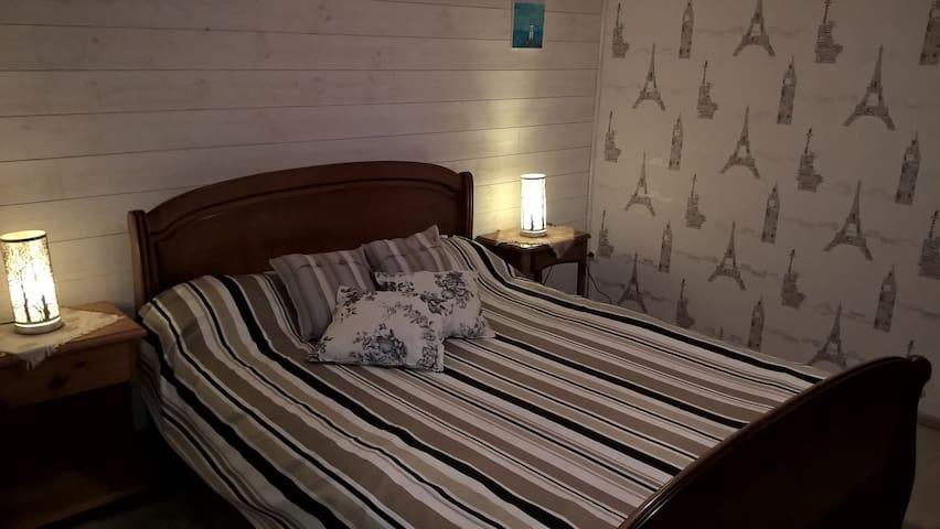 2 chambres 20 ' Puy du Fou petit déjeuner compris - Montravers - Casa