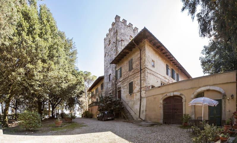 Studio in small Castle nr Florence - Bagno a Ripoli - Daire