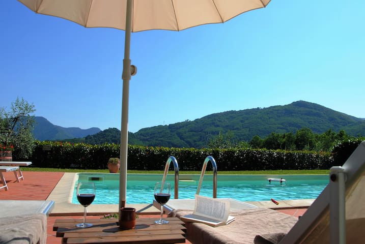 your apartement in vineyhard and olivegrove - Bagni di Lucca - Daire