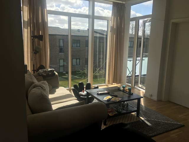 Hyggelig lejlighed tæt på København. - Hedehusene - Appartement