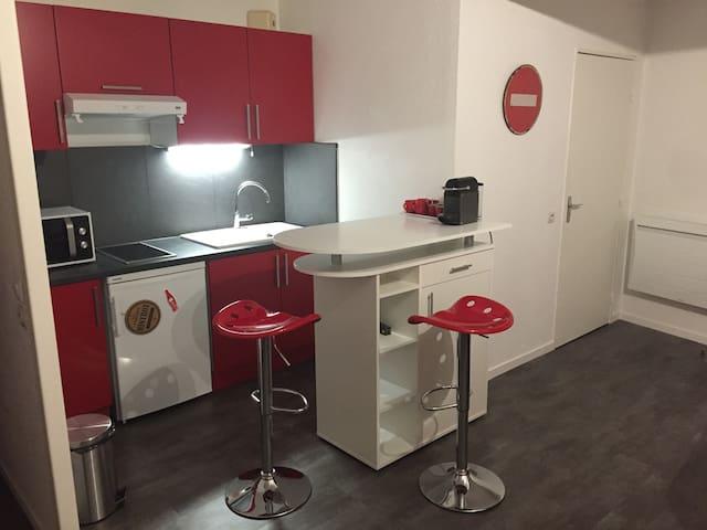 appartement T1 très agréable, 2 couchages doubles - Limoges - Departamento