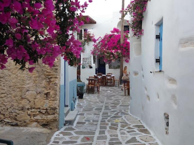 Prodromos traditional house 1-6 persons - Paros - Hus