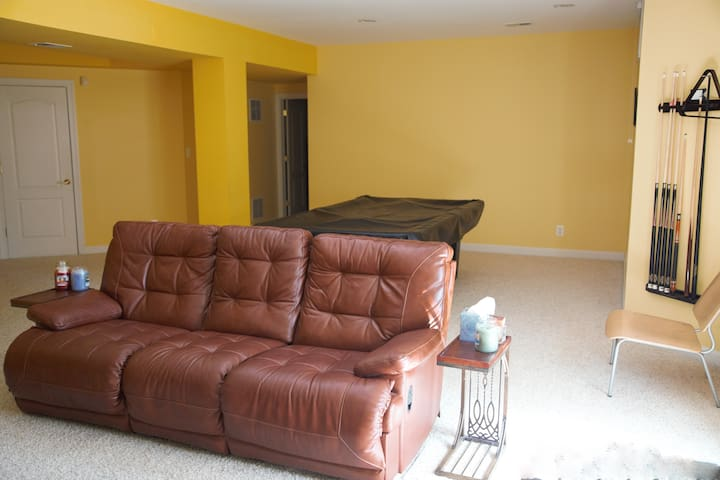 1500sf of comfort, entertainment and privacy!! - Centreville - Huoneisto
