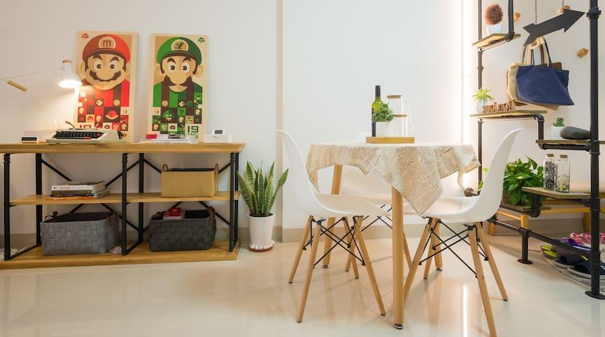 【VR全景看房】本·居『α』马里奥 岛中央 SM之上 两房大床房 - Xiamen