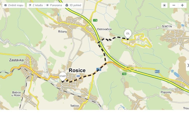 Transport service to Moto GP, 8 min to circle - Rosice
