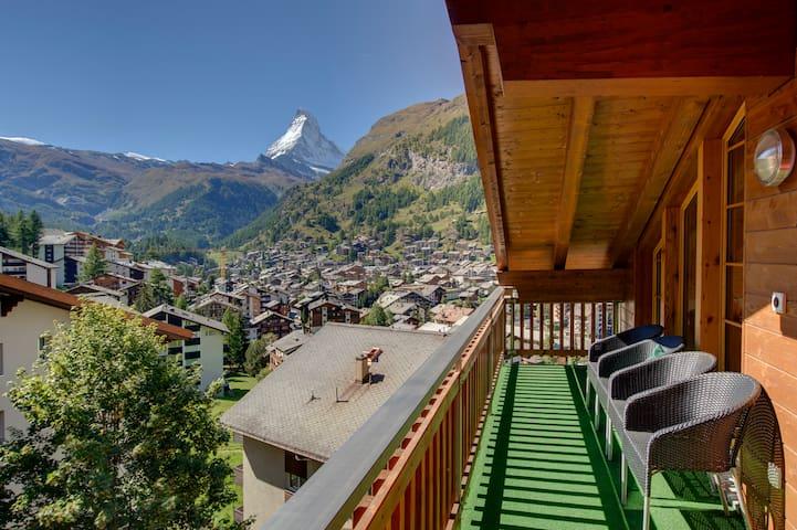 Murini Loft - Stunning modern loft apt sleeps 6-8 - Zermatt - Loft