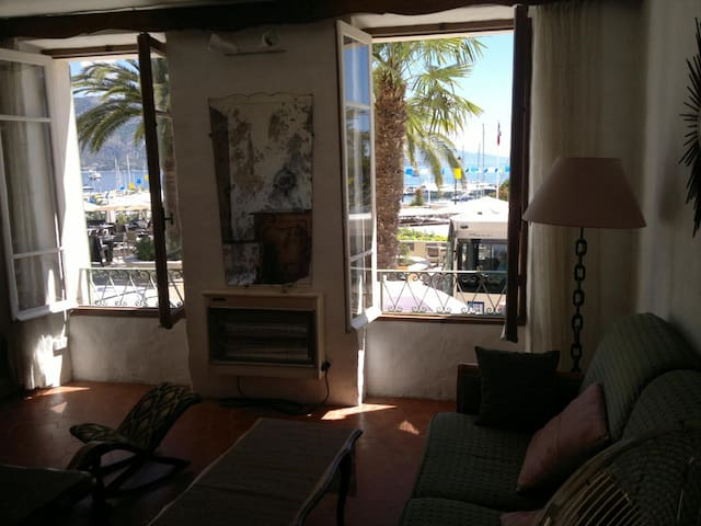appartement vue mer et port de st jean cap ferrat - Saint-Jean-Cap-Ferrat - Appartement