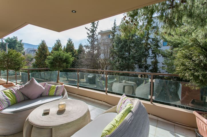 Cozy Fully-Equiped Apartment - Drosia - Daire