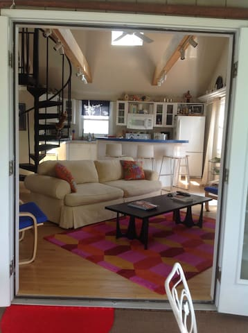 Airy loft with water view - Rehoboth Beach