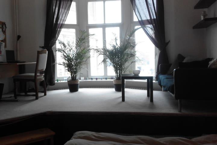 großes, sonniges Zimmer (Ideal für Messegäste) - Hannover - Leilighet