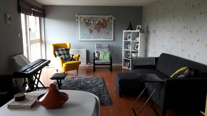 Modern top floor flat - Falkirk - Apartamento