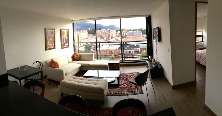 ¡Aptmt. in Cedritos, with nice view and comfty! - Bogotá - Lägenhet