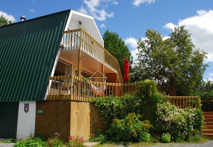 Le chalet au toit vert - Baie-Saint-Paul