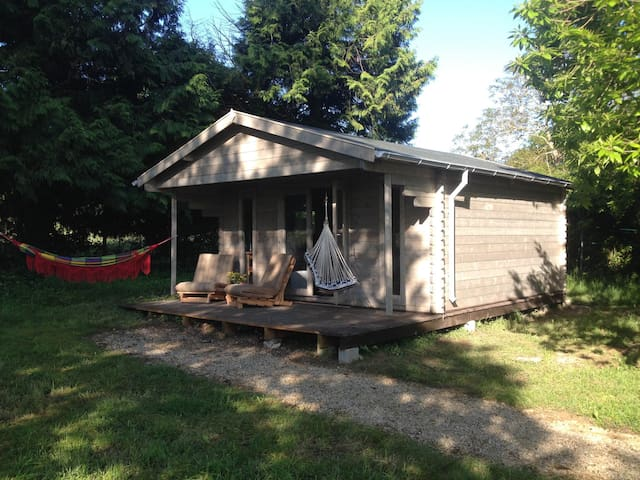 Glamping Chalet Culinair - Chailley - Chalé