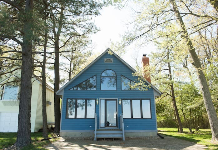 Beautiful Bayfront Home w/Private Dock - North Beach - Maison