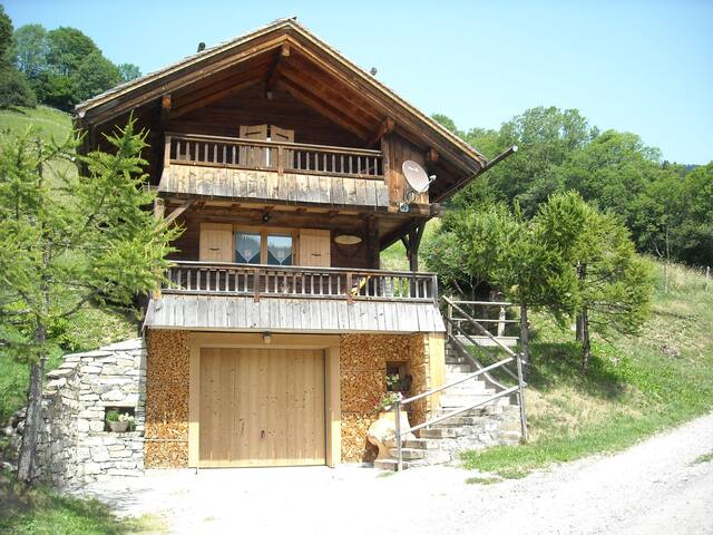 Le P'tit Crêt - Le Grand-Bornand - スイス式シャレー