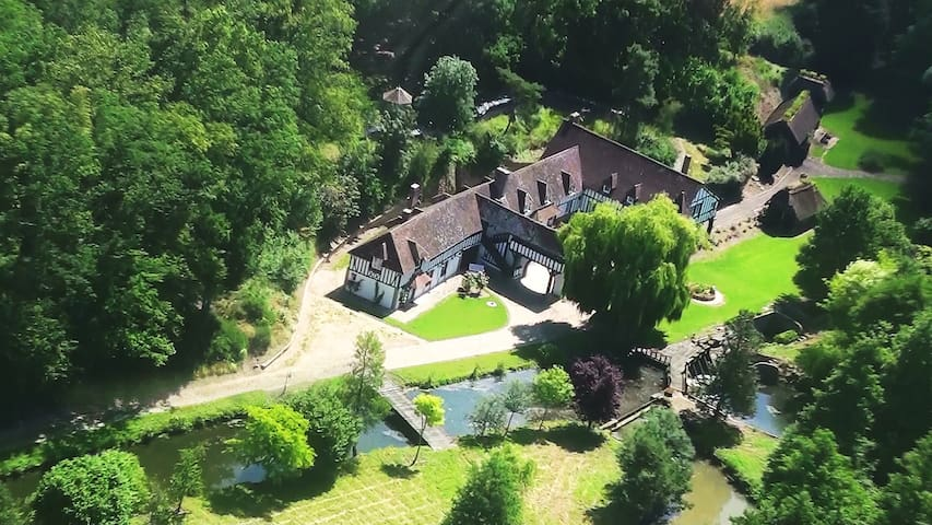 MANOIR  ANGLO - NORMAND - Breteuil - Huis